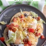 Chorizo heuvos rancheros Pinterest image