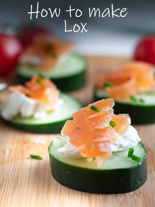How to make lox pinterest image