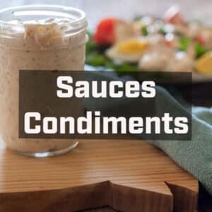 Sauces / Dips / Dressings