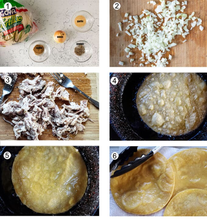 Making filling step by step process photos. See details in recipe below.