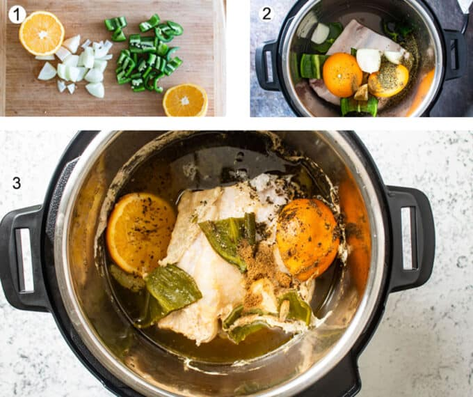 How to make them in the instant pot. See details in recipe below.